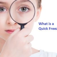 What is a quick freezer?