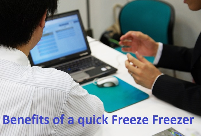 benefits of using a quick freeze freezer
